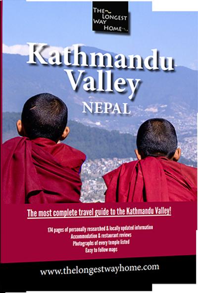 Kathmandu Valley Guidebook cover