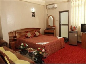 Hotel Nepalaya's deluxe room