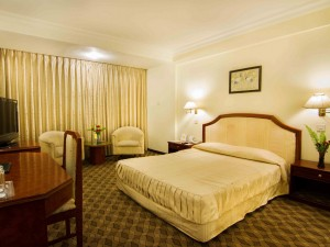 Deluxe room in Hotel Vaishai