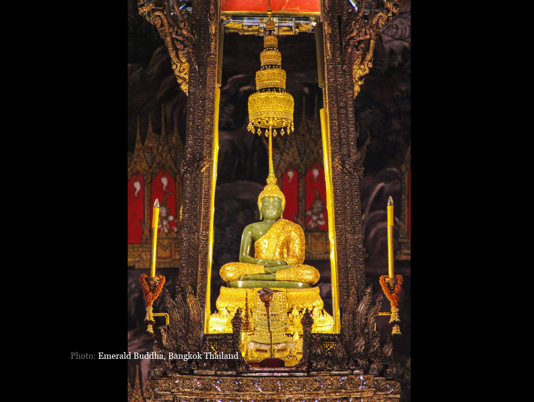 emerald buddhist singles Another of bangkok's buddhist temples is wat phra kaew, the temple of the emerald buddha, located within the grounds of the grand palace the main building is the central ubosoth, which.