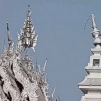 White Temple Chiang Rai after earthquake 2014