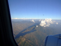 Looking out an airplane window at Kathmandu_resize_resize