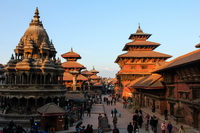 "Patan ""Lalitpur"" Durbar Square during sunset, Nepal"