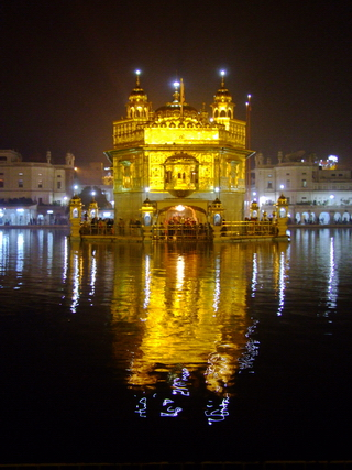 Golden Temple at Night - India