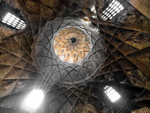 Interior Market Dome in Iran
