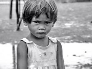 Stilt House Girl - The Philippines