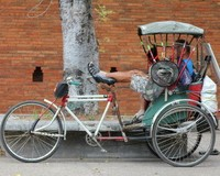 Cycle Rickshaw in Thailand