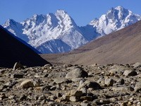 Road to Everest from Tibetan side