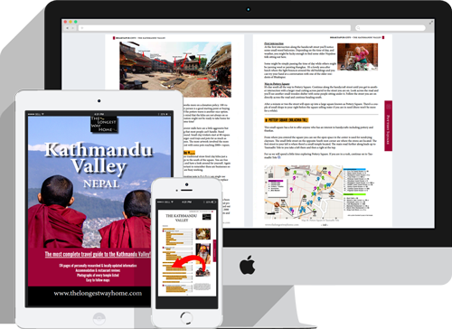 Kathmandu Valley digital guidebook