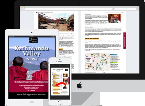 Kathmandu Valley digital guidebook