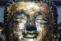 Buddha with Diamond Eyes at Luang Pho Petch, Sukhothai
