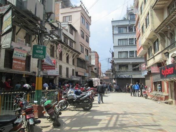 Kathmandu Durbar Square from Freak Street