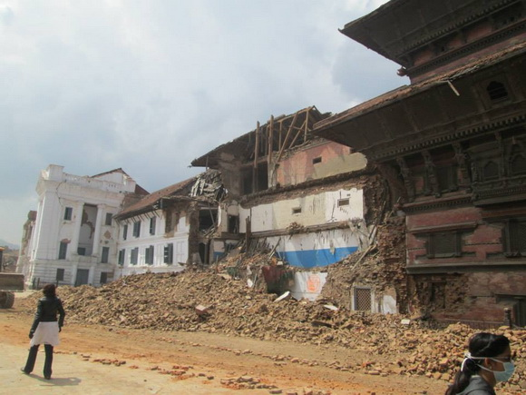 Kathmandu city after the earthquake