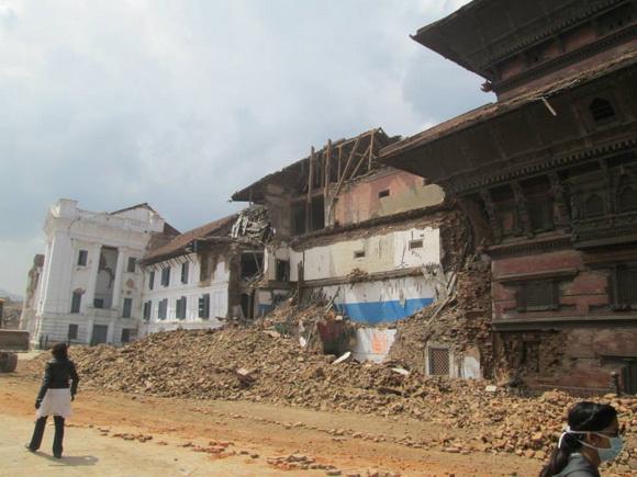 Kathmandu city after the earthquake
