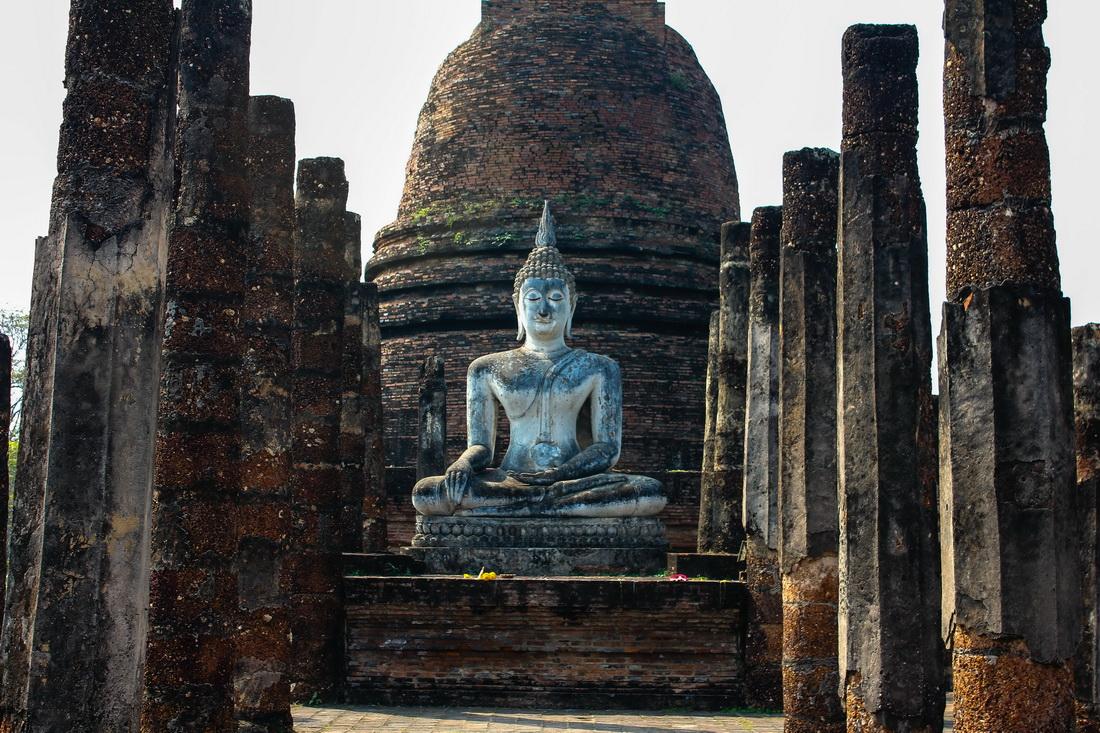 Wat Sa Si, Sukhothoi, Thailand