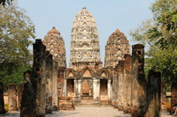 Wat Si Sawai or Sri Savaya, Sukothai, Thailand