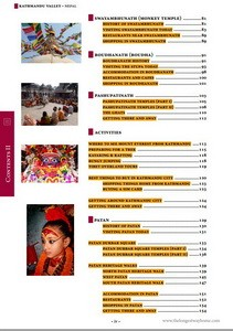 Kathmandu Valley Table of Contents 2