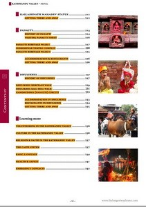 Kathmandu Valley Table of Contents 4