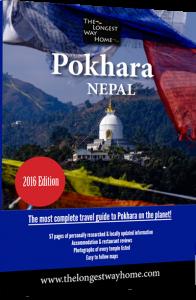 Pokhara guidebook cover