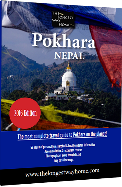 Pokhara guidebook cover