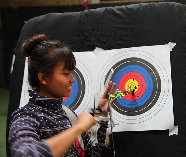 Archery in Kathmandu