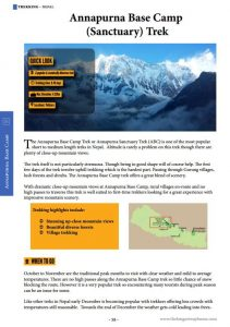 Annapurna Base Camp guide chapter
