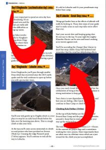 Everest Base Camp trek guidebook map