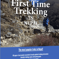 Trekking in Nepal Guidebook cover