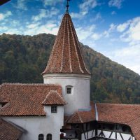Castle Bran (Dracula) in Romania