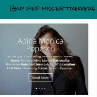 MissingTrekker.com Website