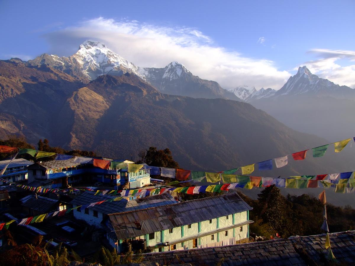 Gorepani to Gandruk on the Annapurna Circuit