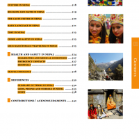 Nepal guide book table of contents 8-min
