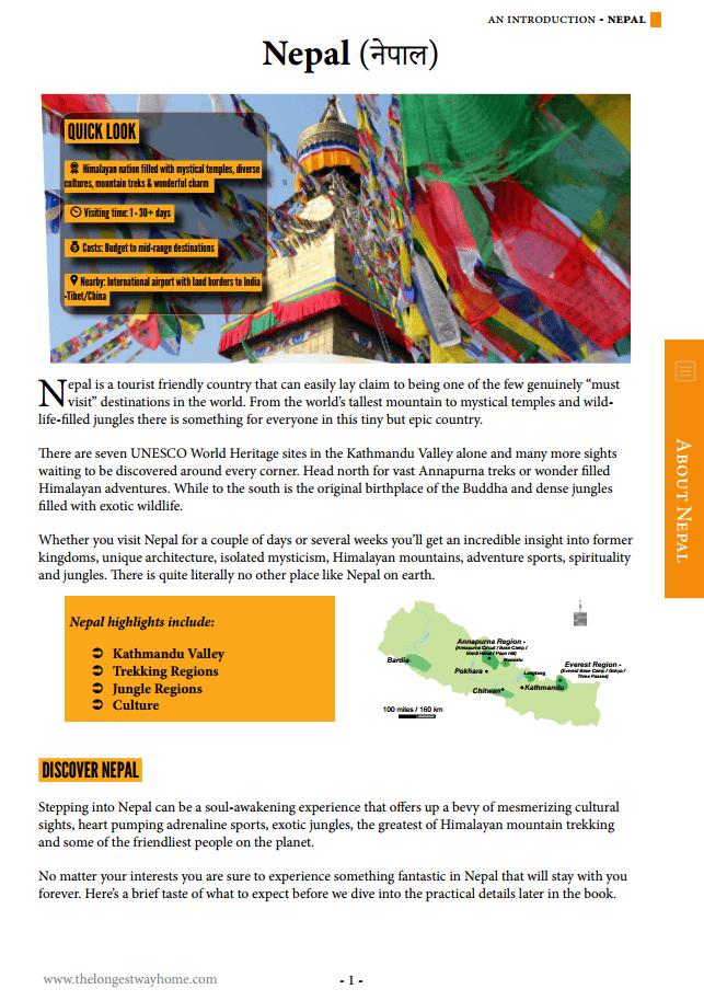 page 1 Nepal Guidebook
