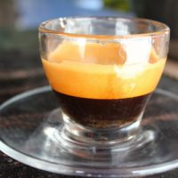 Freshly roasted espresso coffee in Pokhara Pizza and Coffee