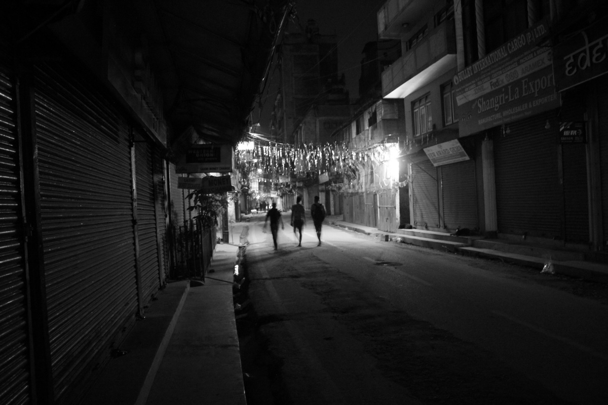 Thamel at night: from dusk till dawn