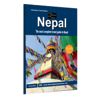Nepal guidebook print edition cover
