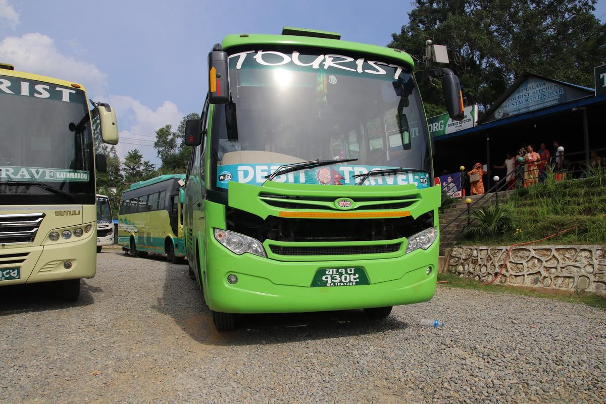 Pokhara Kathmandu bus