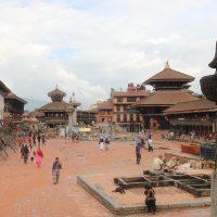 Bhaktapur Durbar Square in 2017 Nepal