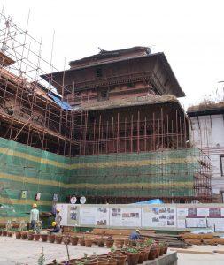 2018 Repairs in Kathmandu Durbar Square