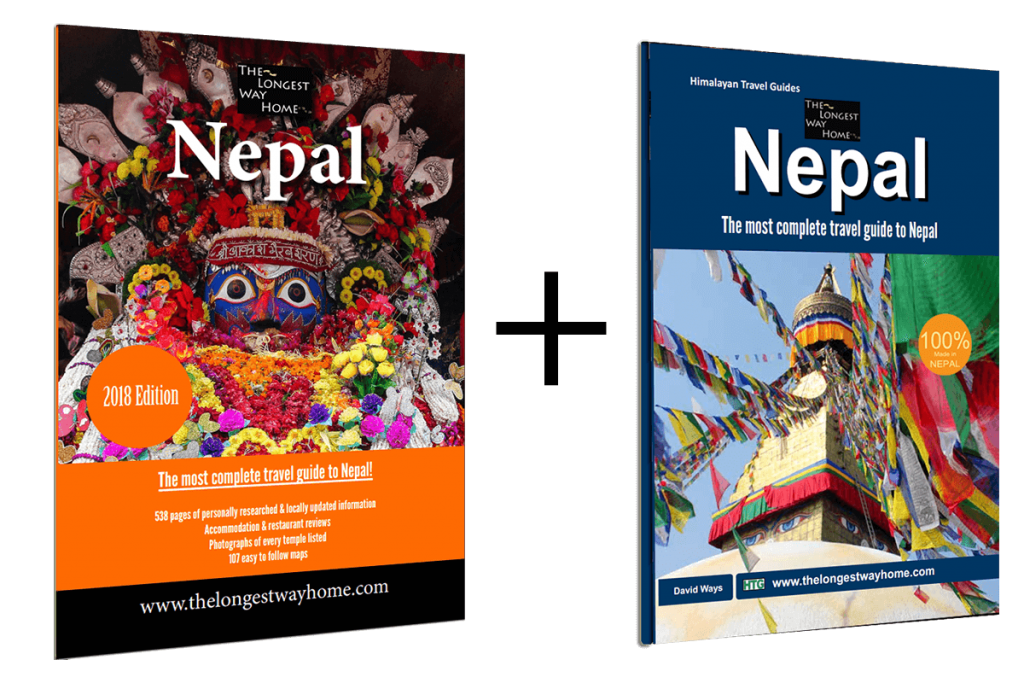 Digital and print Nepal guidebooks