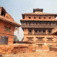 Nuwakot fortress in Nepal
