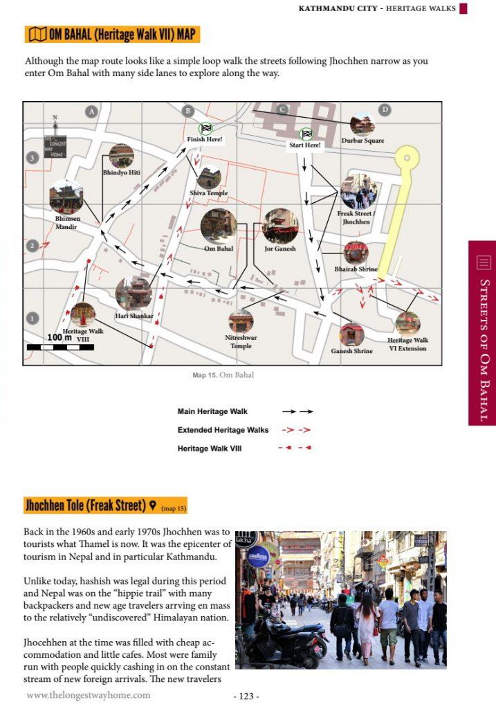 Om Bahal Heritage Walk Map