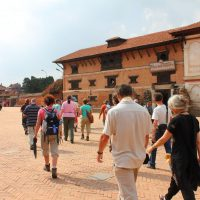 Walking tour of Bhaktapur Nepal