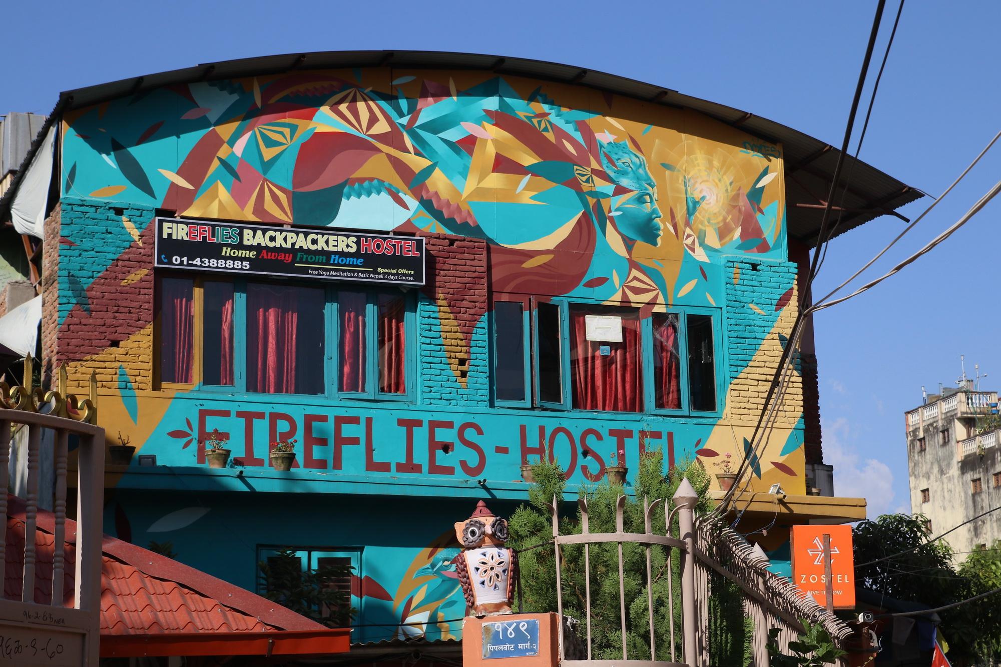 Fireflies Hostel in Paknajol, Kathmandu