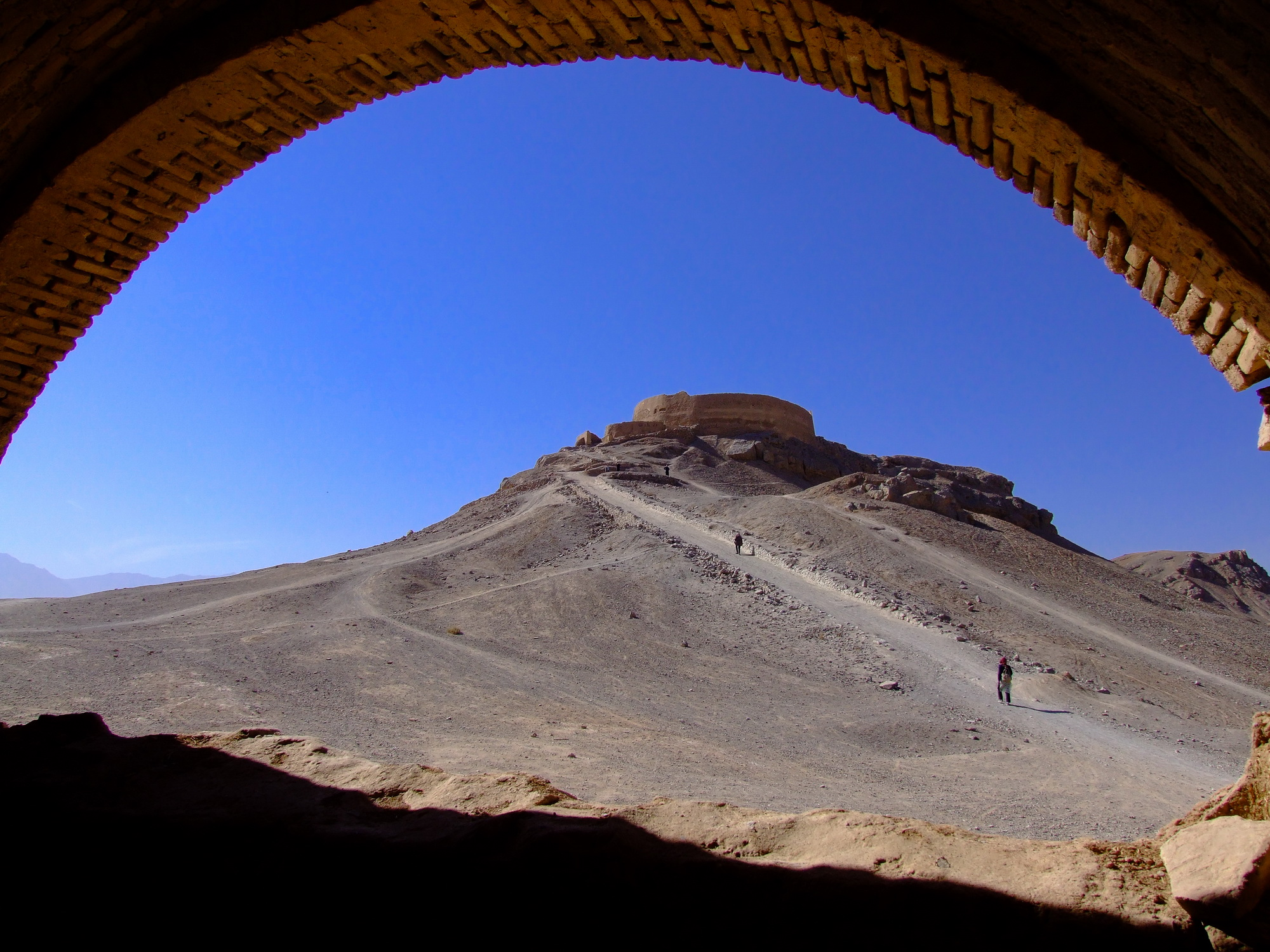 Zoroastrian tower of silence