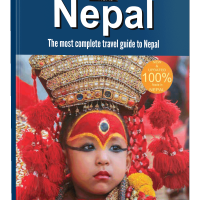 Nepal Guidebook Print Edition 2019 cover