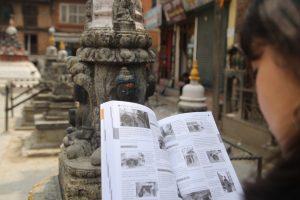 Kathmandu Valley Heritage book identify statues