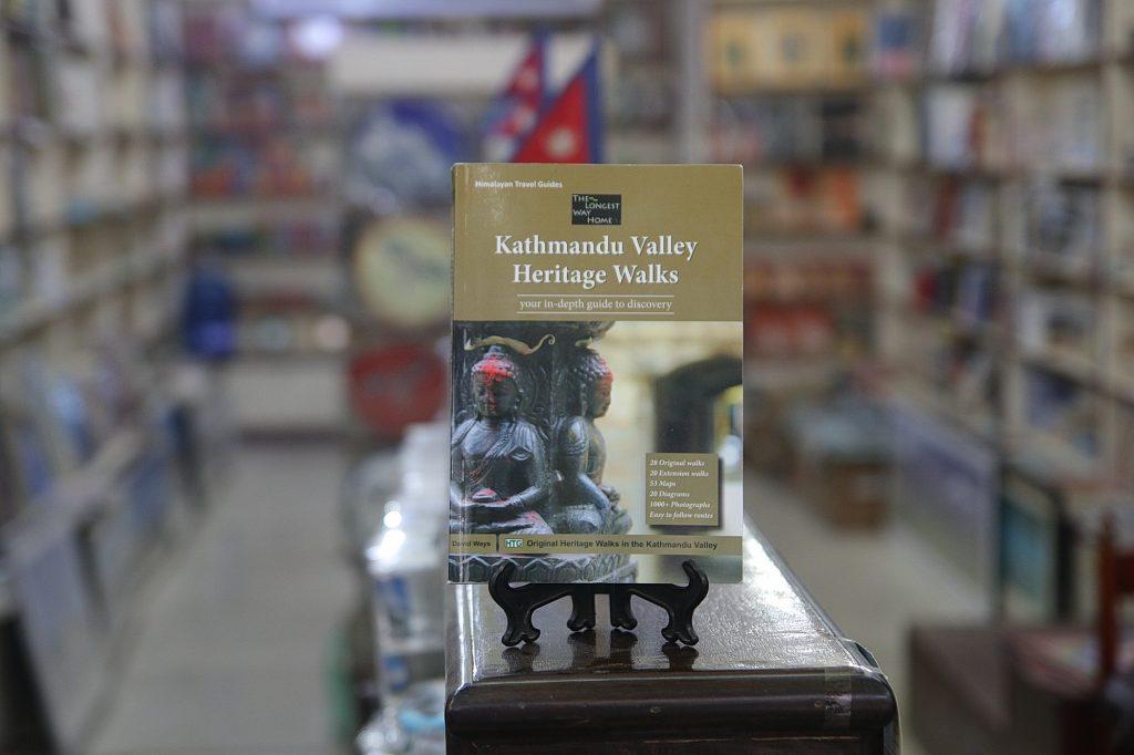 Kathmandu Valley Heritage book in bookshop