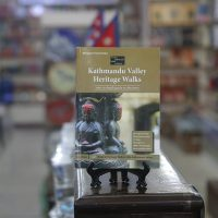 Kathmandu Valley Heritage book in bookshop