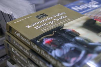 Kathmandu Valley Heritage Walks book - print edition
